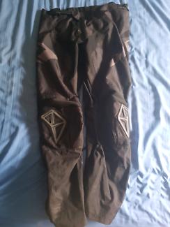 One industries motocross pants black size 34