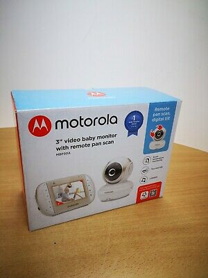 "Motorola MBP30A Video Baby Monitor with 3"" Handheld Parent Unit"