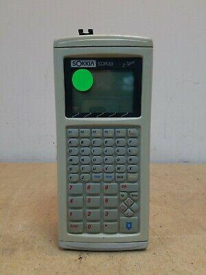 Sokkia Sdr33 Data Collector