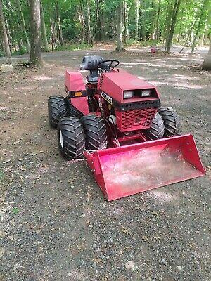 Steiner 420 Kubota Diesel Dual Wheel Loader 3 Point Hitch 4x4 Ventrac Tractor