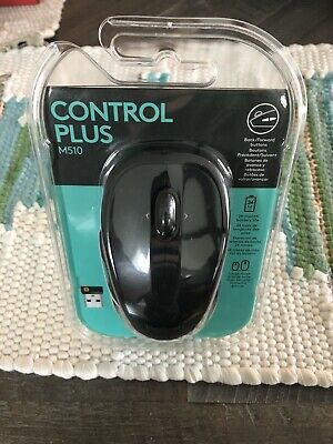 LOGITECH M510 Wireless Computer Mouse USB OEM Black