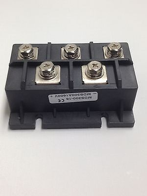 Bridge Rectifier 3ph 300a 1600v Mds300a Diode 3 Phase 300 Amp 1600 Volt 1pc