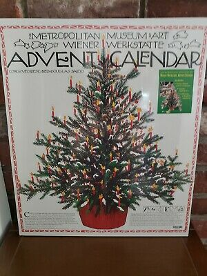 The Metropolitan Museum Of Art Christmas Advent Calendar Beautiful NEW