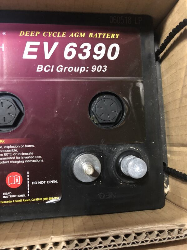 6V 390AH AGM DEEP CYCLE,