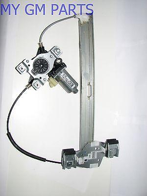 HUMMER H2 DRIVER REAR DOOR POWER WINDOW REGULATOR W/MOTOR 2003-2009 NEW 15771355