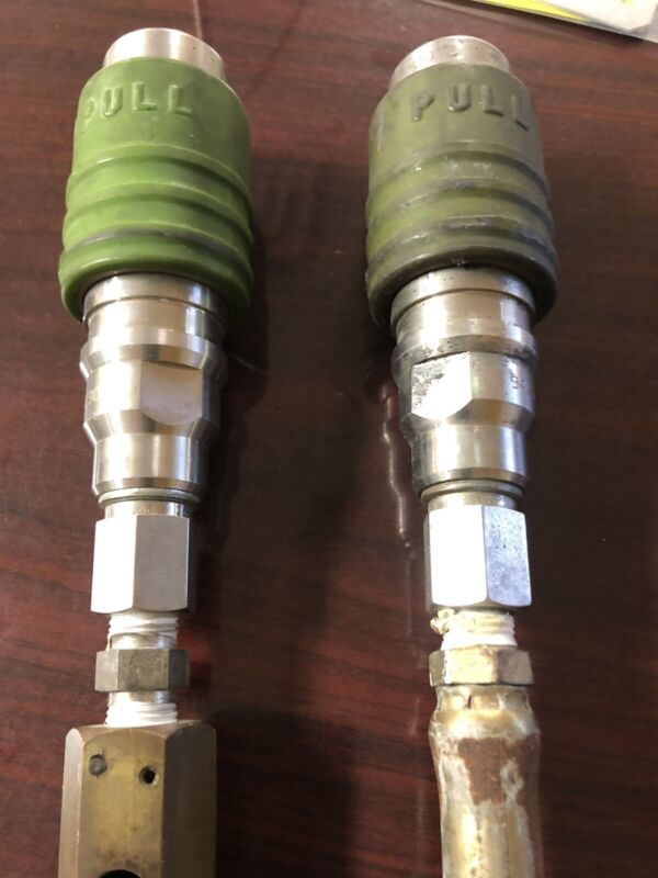 CNG Dispenser Nozzle 2400 PSI Removed working Staubli