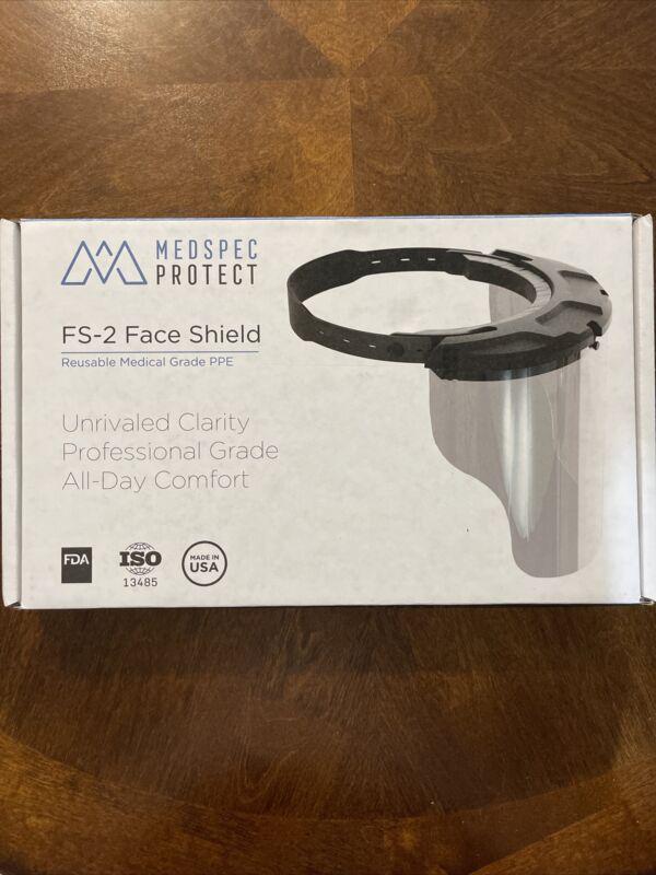 MEDSPEC PROTECT FS-2 Face Shield Reusable Medical Grade PPE