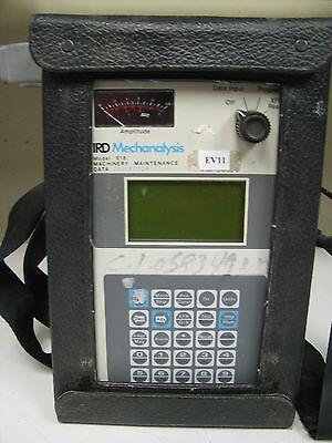 Ird Mechanalysis Model 818 Machinery Maintenance Data Collector Ev11