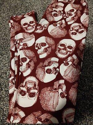 Lularoe leggings Halloween Vintage Sketch Skeleton Hard to find!! OS - Halloween Cartoon Skeletons