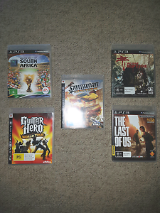 5x Playstation 3 games North Rothbury Cessnock Area Preview