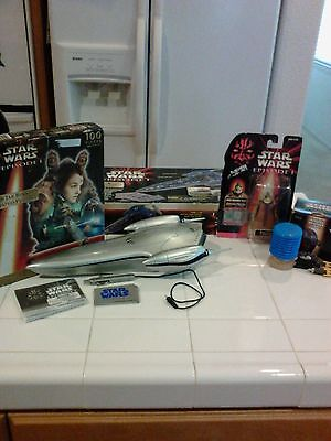 Star Wars Episode 1 Puzzle,Boss Mass Figure, Escape from Naboo Game & Taco Bell  for sale  Rancho Cucamonga