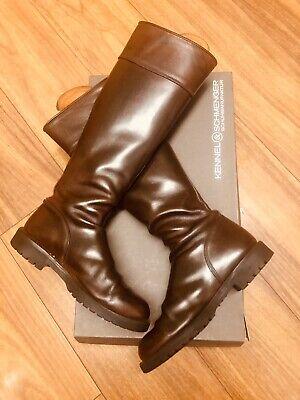 KENNEL UND SCHMENGER Brown Leather Knee Riding Boots Size 5 EU38