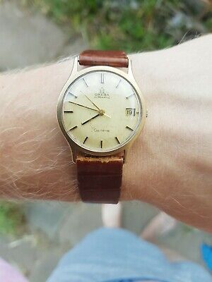 Omega 9ct gold Vintage watch Cal 565