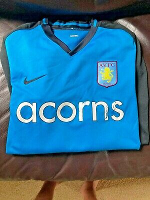 Aston Villa 2008-2009 Away Soccer Jersey, Nike, XL, English Premier League image
