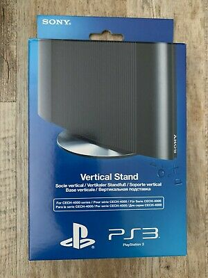 Official SONY PS3 Vertical Stand for CECH-4000 series PlayStation 3 *NEW SEALED*