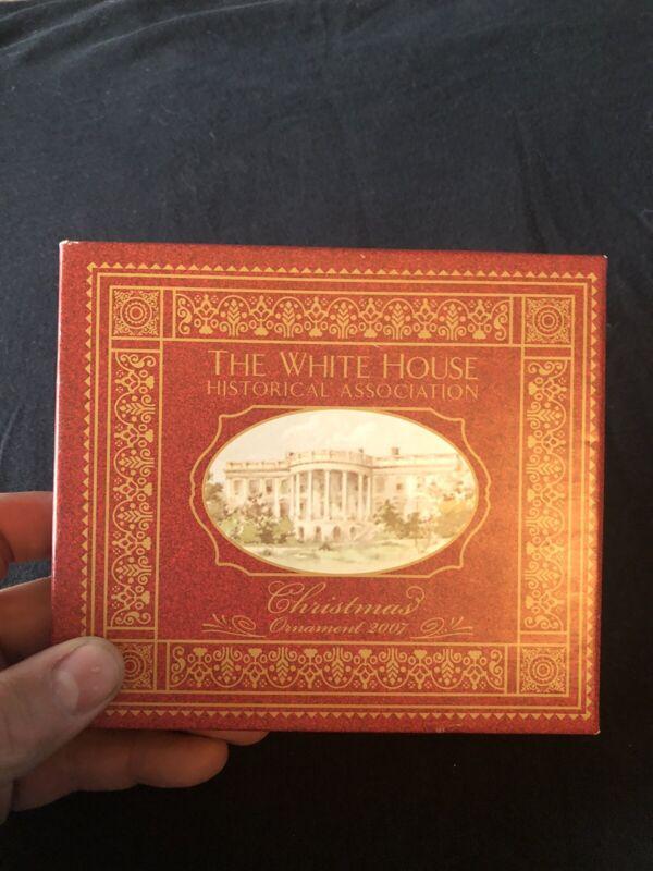 2007 The White House Historic Association Christmas Ornament