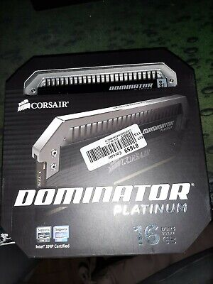 DDR3 CORSAIR DOMINATOR PLATINUM 16GB (2x8GB) 2400MHz CMD16GX3M2A2400C10