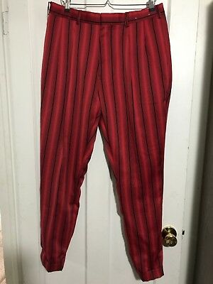 Mens Alberto Celini Uomo Pin striped Dress Golf Pants, 36 waist, Made in Italy, used for sale  Bountiful