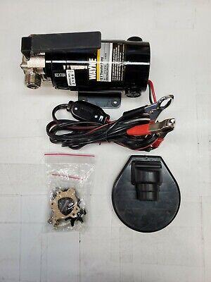 Wayne Pc1 Utility Pump12-volt Water Transfer Pump Portable Lightweight Read