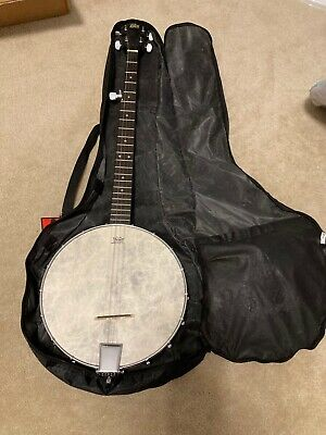 5 String Banjo Rogue Barely Used, w/ Bag