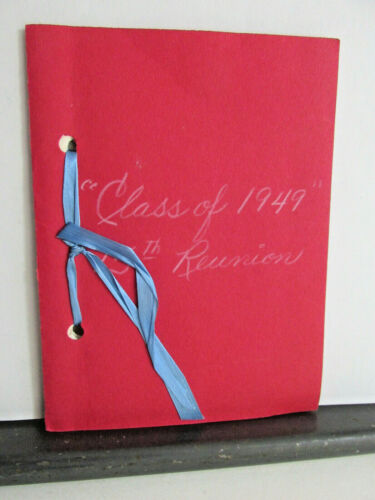 1949 VAN WERT OHIO High School Class 15th Reunion Program, 1964 Joan Arnold