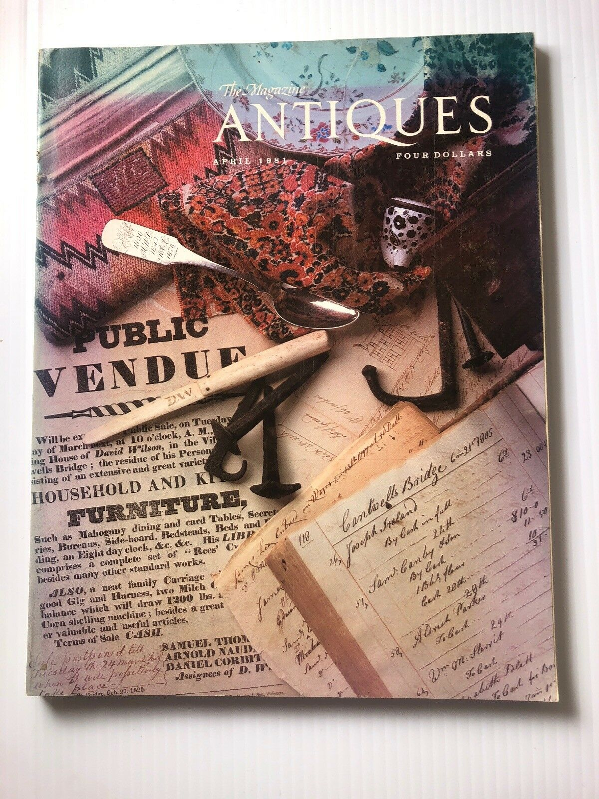 The Magazine Antiques April 1981