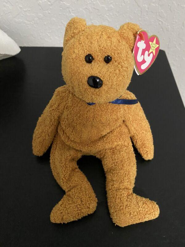 ty beanie baby fuzz bear