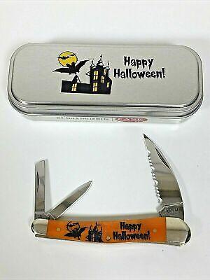 MINT CASE XX KNIVES PERSIMMON BONE SEAHORSE WHITTLER KNIFE #10594 2020 HALLOWEEN