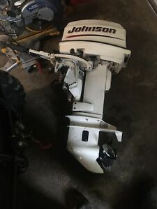 2003 25 hp Johnson outboard motor