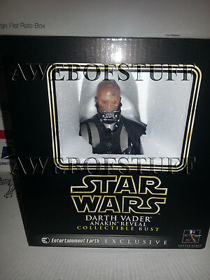 Star Wars Gentle Giant Darth Vader Anakin Reveal Mini-Bust New Exclusive