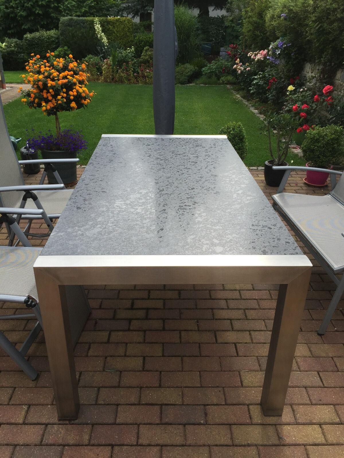 Gartentisch outdoor tisch terrassentisch granit naturstein for Terrassentisch granit