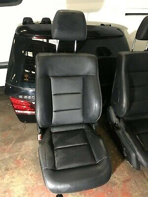 Mercedes-Benz E Class W212 2009 To 2013 Heated Leather Front Seat left side