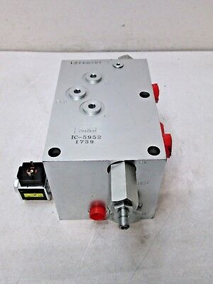 New Parker Ic-5952 1739 12766301 Hydraulic Solenoid Manifold Valve New Free Ship