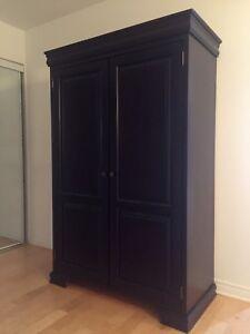 Italian wardrobe solid mahogany