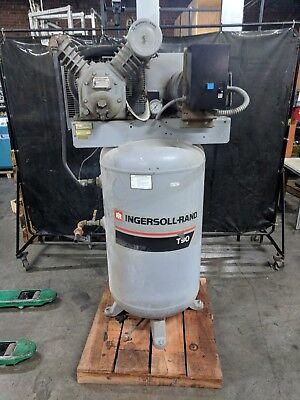 Ingersoll Rand T-30 Air Compressor 7.5 Hp 220v 1ph