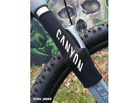 Bike Schutzausrüstung Kettenstrebenschutz CANYON Hinter Chain Protection