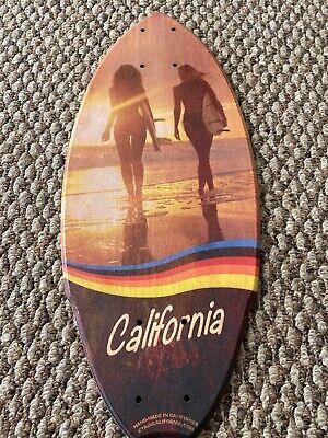 "Mini Skateboard Deck Cali Girls Collectible 20""X 8.5"" Flat Locker OS Truck"