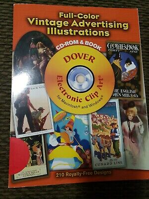 Full-Color Vintage Advertising Illustrations by Dover Publications Inc
