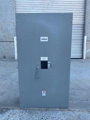 Siemens J6n1 400a 600v Circuit Breaker Enclosure