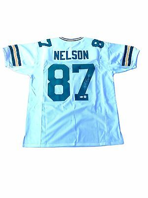 5a88fcb3f8b Jordy Nelson Green Bay Packers (Away White) Signed Jersey JSA