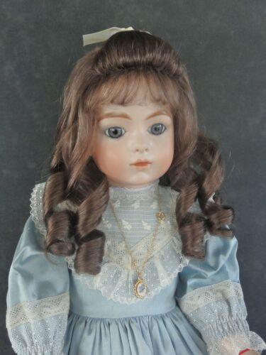 Perruque de poupée 100% cheveux naturels - Taille 1 à 4 ( de 18 à 24 cm ) FRANCE