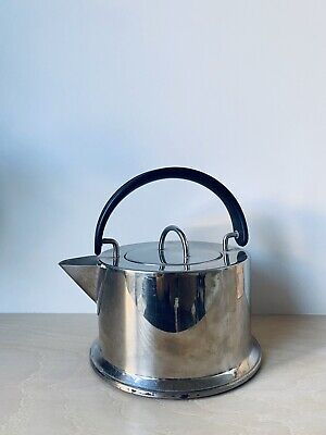 Vintage Bodum Stove Top Kettle - C Jorgensen - Made In Italy - Stainless Steel