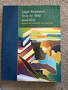 Legal research: step-by-step
