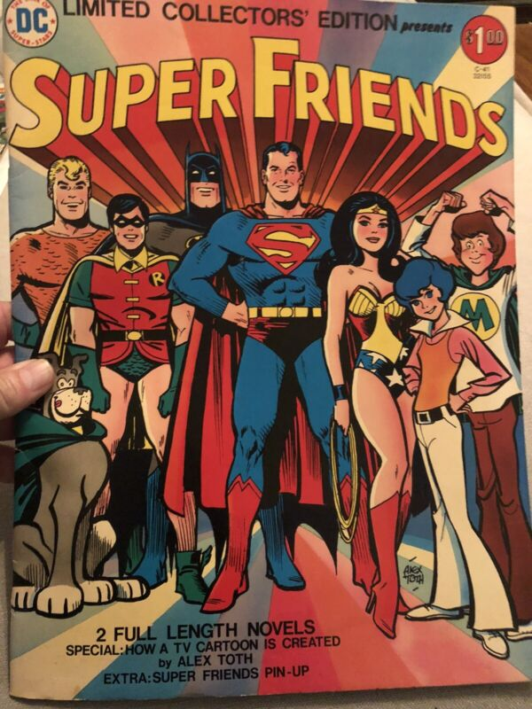 Super Friends Comic Book DC Limited Collectors Edition Oversized