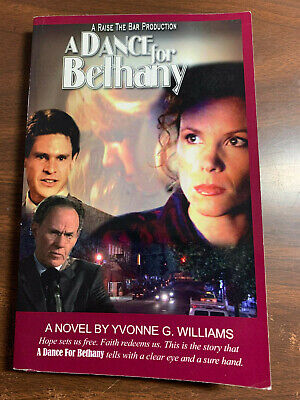 A DANCE FOR BETHANY by Yvonne Williams, A Christian story of child trafficking