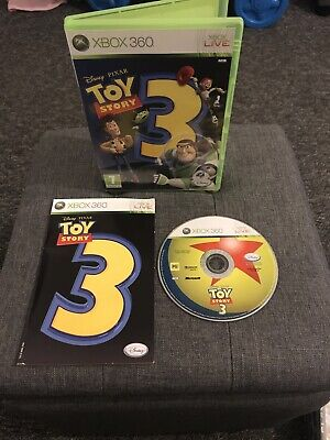 Toy Story 3 Xbox 360 Game (Xbox 360) good condition