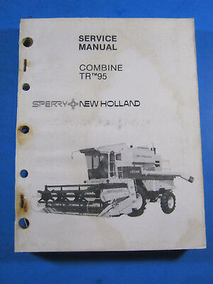 New Holland Combine 95 Service Manual
