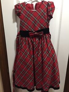 Classic Christmas dress -HIGH END- size 5