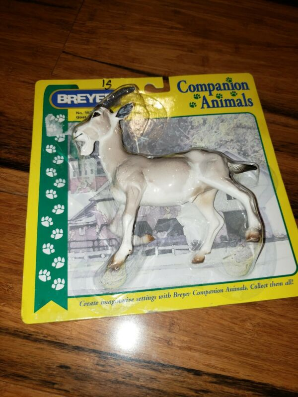 Retired Breyer Companion Animal Goat model #1521 new old stock sealed package