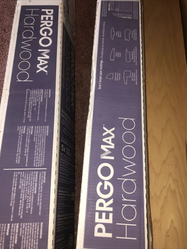 Pergo max hardwood floor